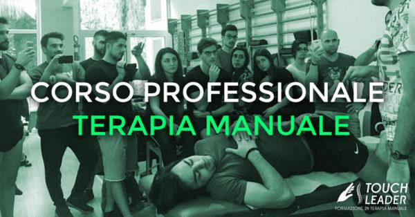 Corso professionale di Terapia Manuale – 7^ edz. – Trattamento dell'apparato locomotore con tecniche manipolative – Putignano (BA) 2017